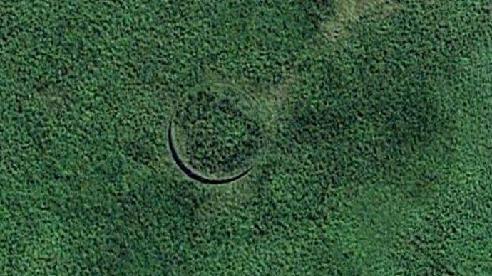 south sudan hole odd things on google maps