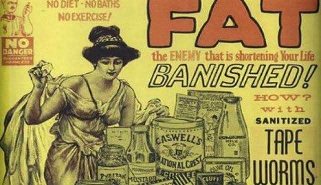 tapeworms diet victorian era crazy medical procedures past