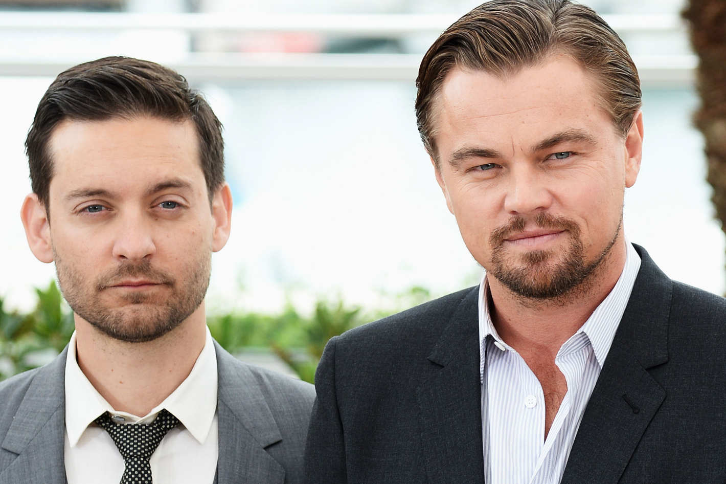 tobey mcguire leonardo dicaprio best friends celebrities