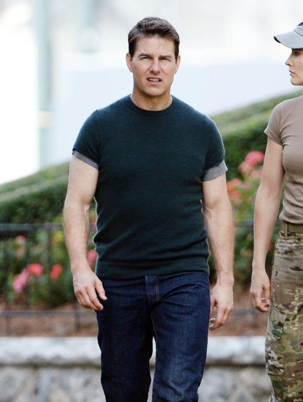 tom cruise most fit celebrity men