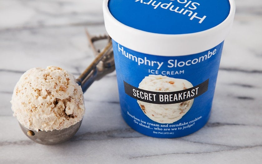 weird ice cream flavors | secret breakfast