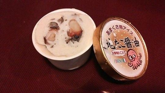 weird ice cream flavors include octopus ice cream