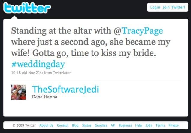 Worst Wedding Trends Tweeting From Altar