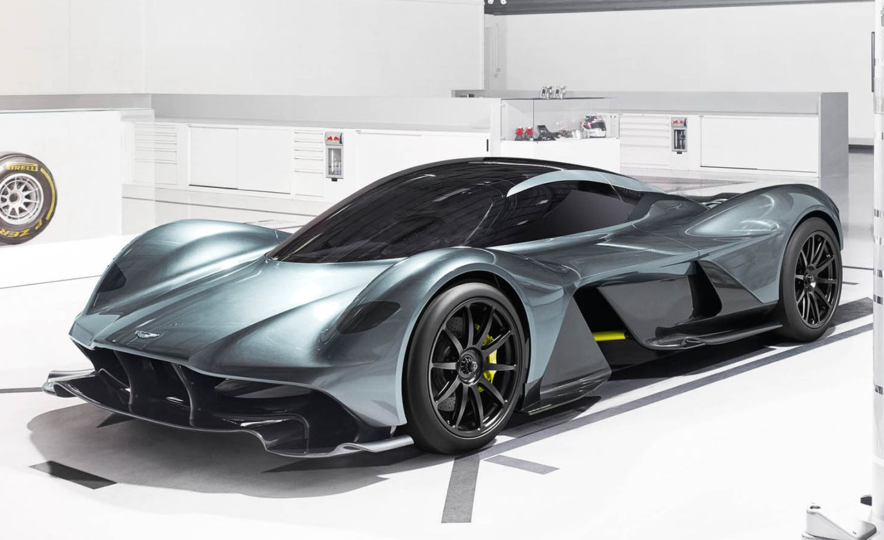This supercar that was created as a result of efforts by Aston Martin and Red Bull