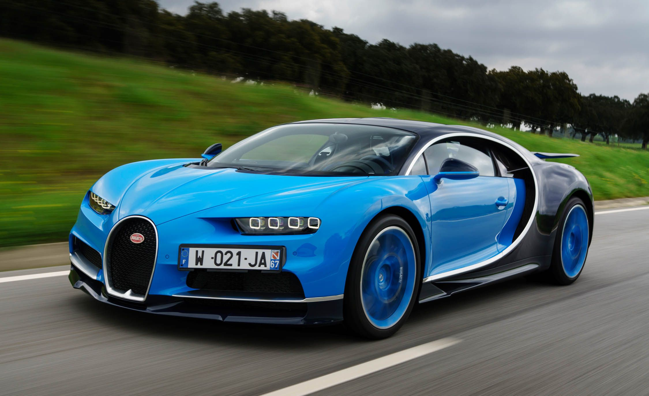 Bugatti Chiron is one of the most expensive cars in Bugatti history