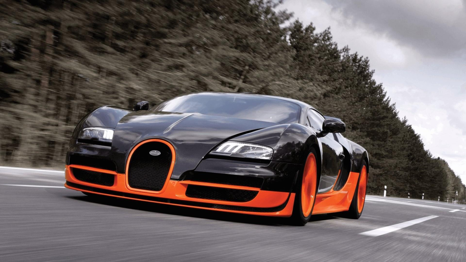 One of the most popular cars from Bugatti and also one of the most expensive