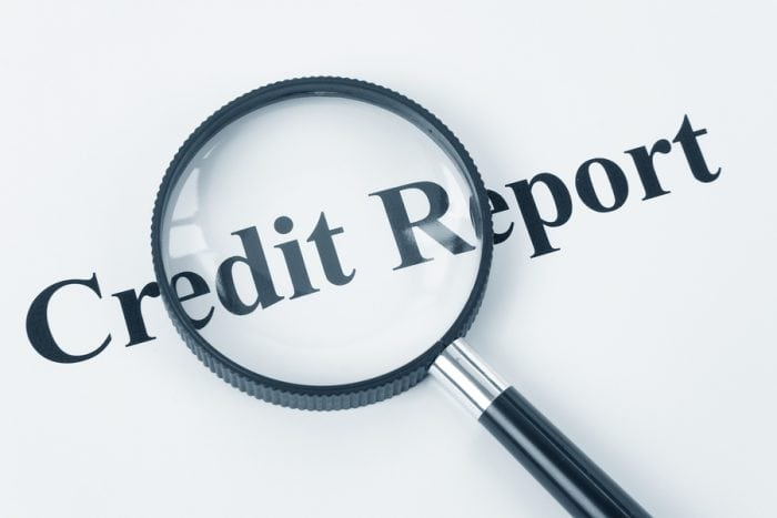 build a credit line - Credit report