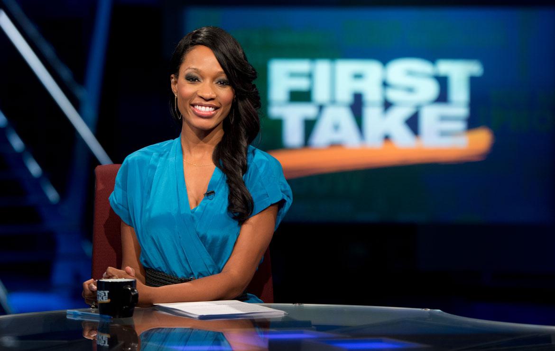 Cari Champion's hottest female broadcaster