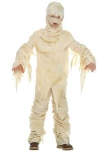 The Mummy Costume is one of the simplest and also popular Diy Halloween Costumes you can create