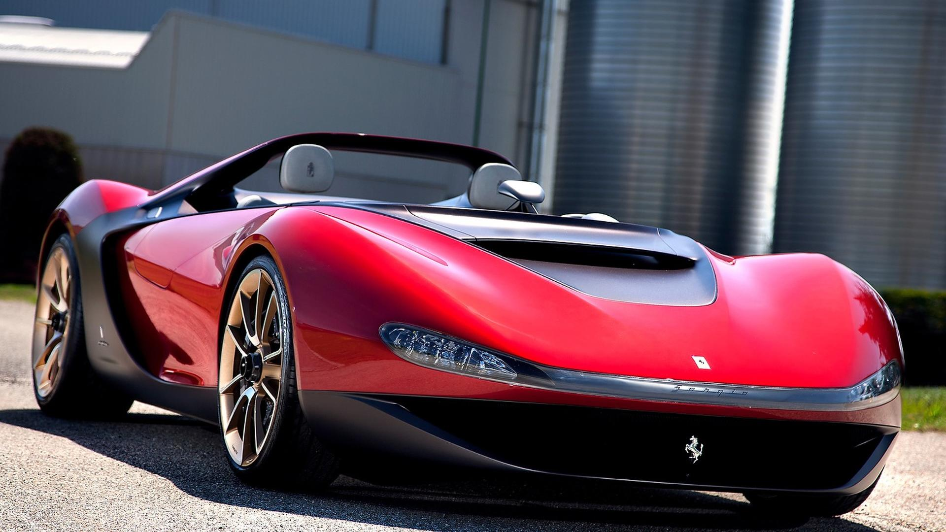 Ferrari Sergio is one of the most expensive cars today