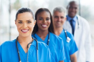 Group of nurses and doctors - Nursing is one of the most popular graduate degrees in the health profession