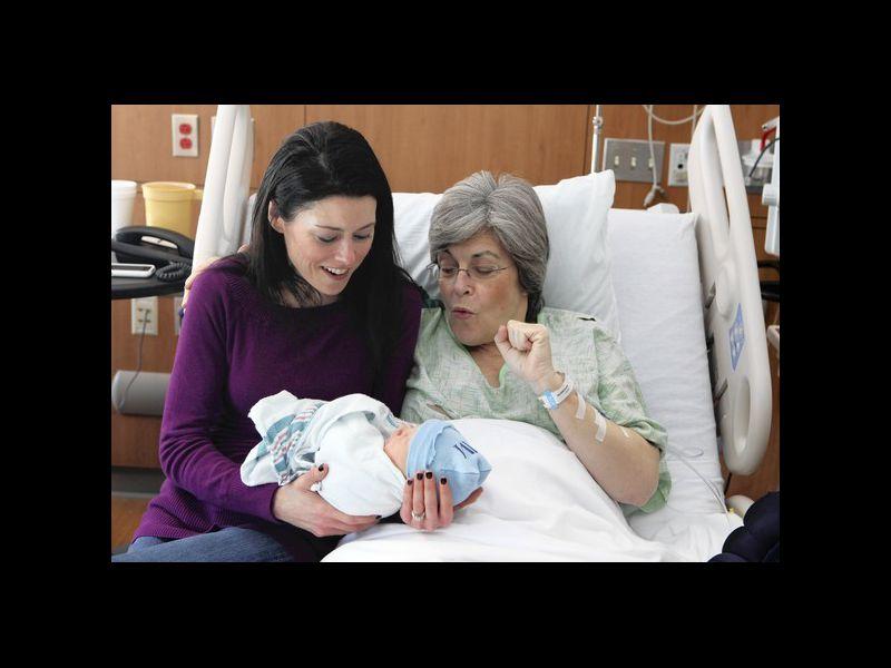 grandma giving birth at 61 sara connell