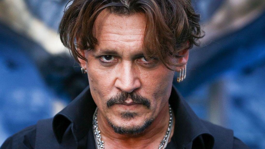 Johnny Depp, a metrosexual celebrity