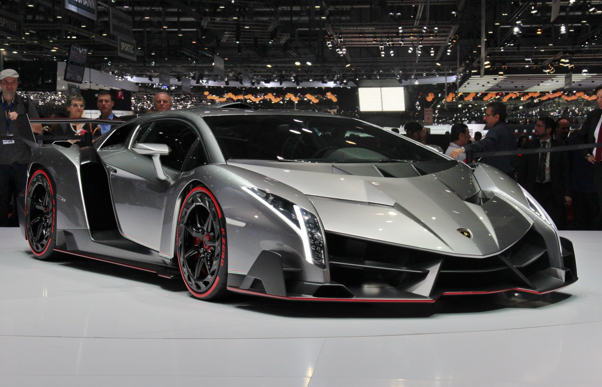 Lamborghini Veneno is one of the most expensive cars on earth
