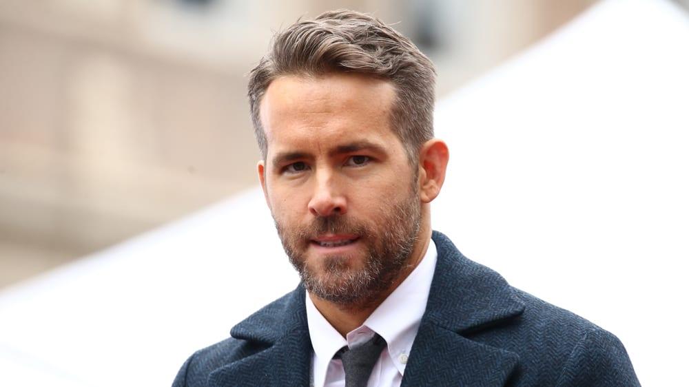 Ryan Reynolds is one of the top metrosexual celebrities