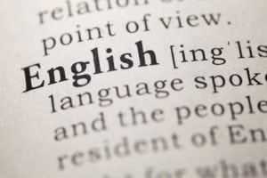 English meaning in the dictionary - English is one of the most popular courses studied by undergraduates