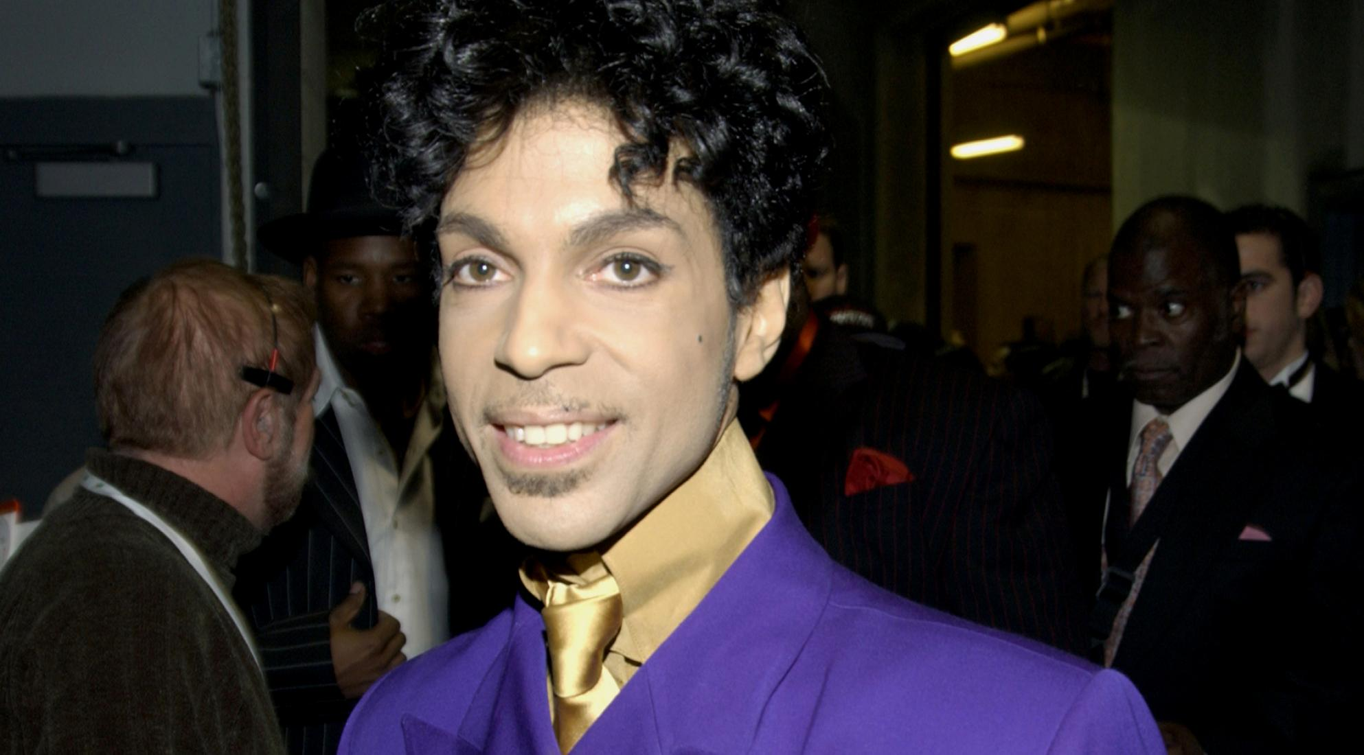 prince was a metrosexual celeb