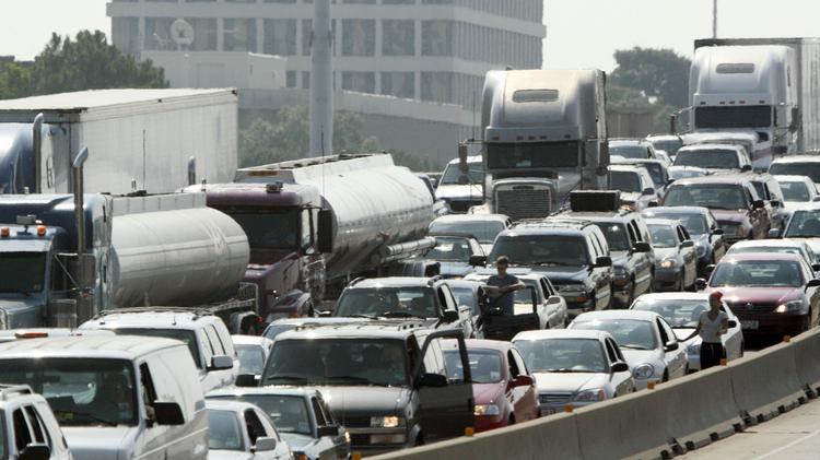 Worst traffic jams