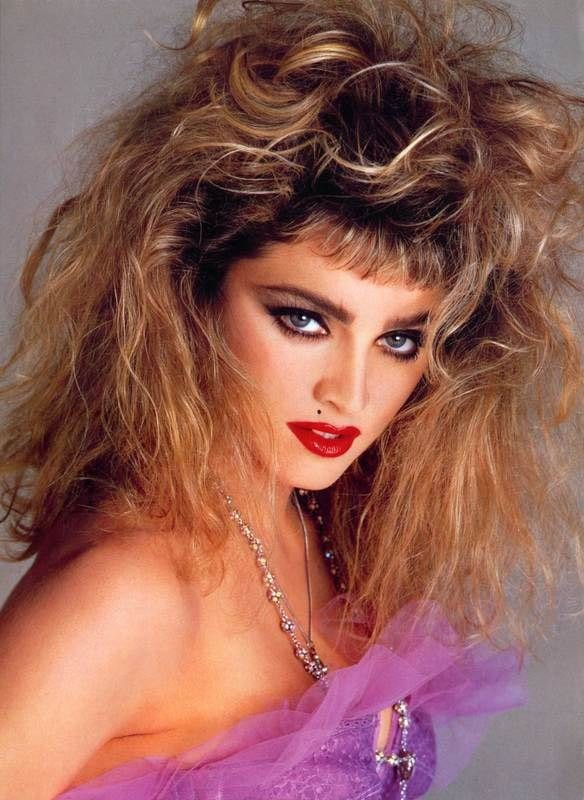 The Wild Hair was one of the worst hairstyle made popular by pop icon Madonna