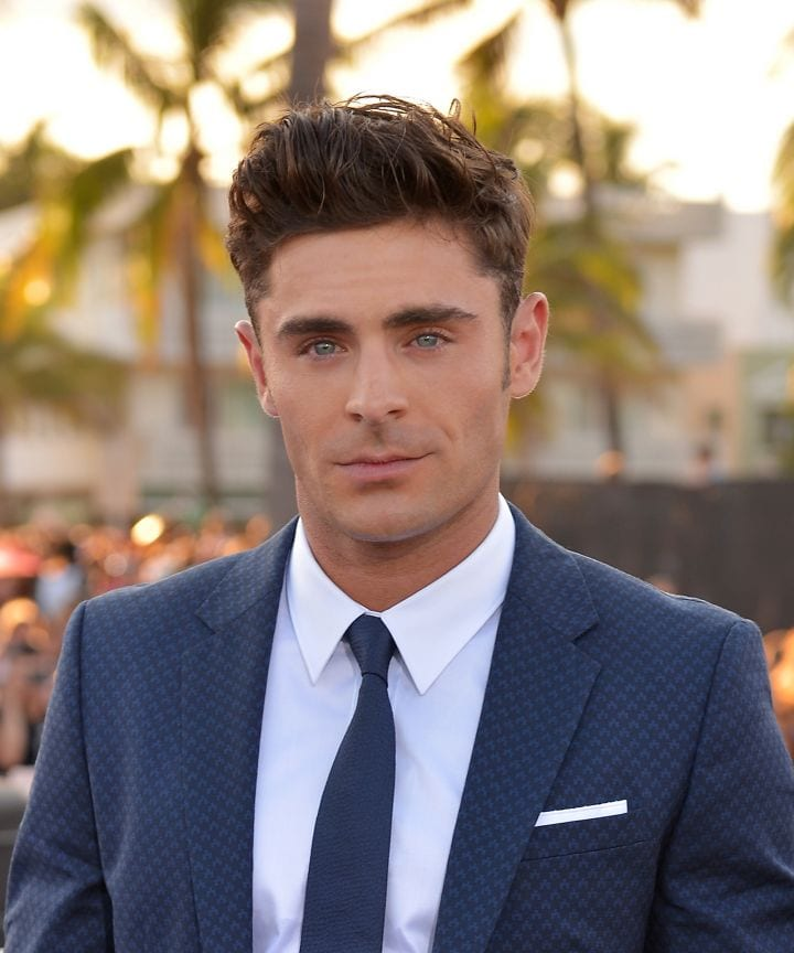 Zac Efron is a handsome Hollywood celebrity