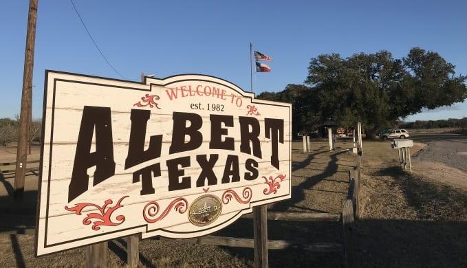 a town of albert tx