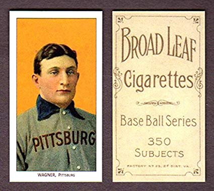 honus wagner baseball card is one of the most expensive items sold online