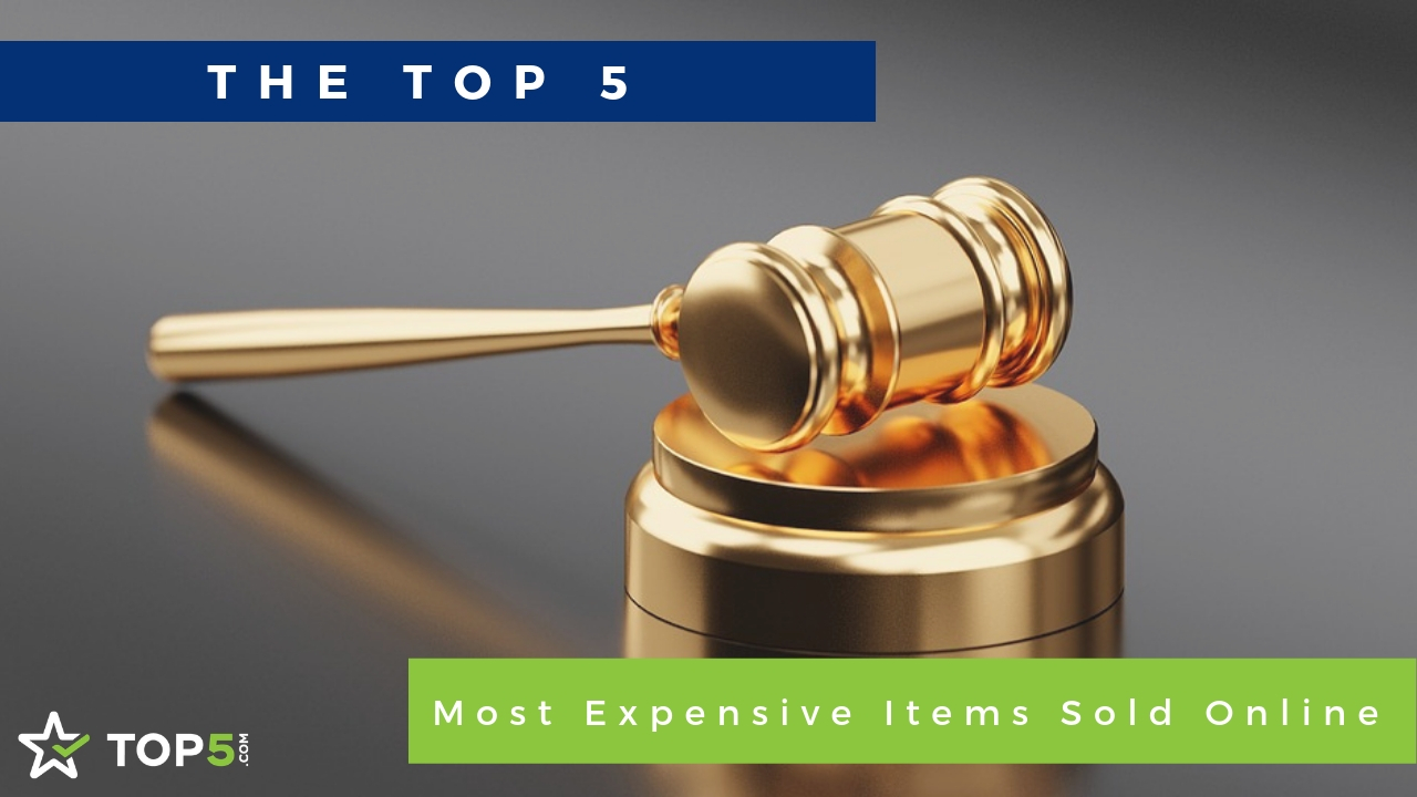 the top 5 most expensive