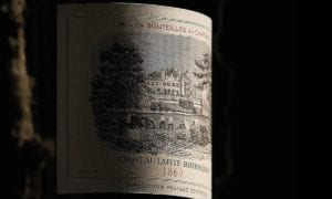 Chateau Lafite 1869 is one of the few wines that has the inscription of Theodre Roosevelt