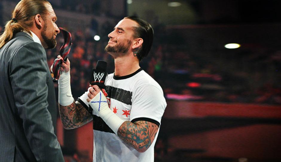 Triple H CM Punk