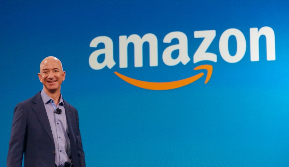 Jeff Bezos Amazon Logo