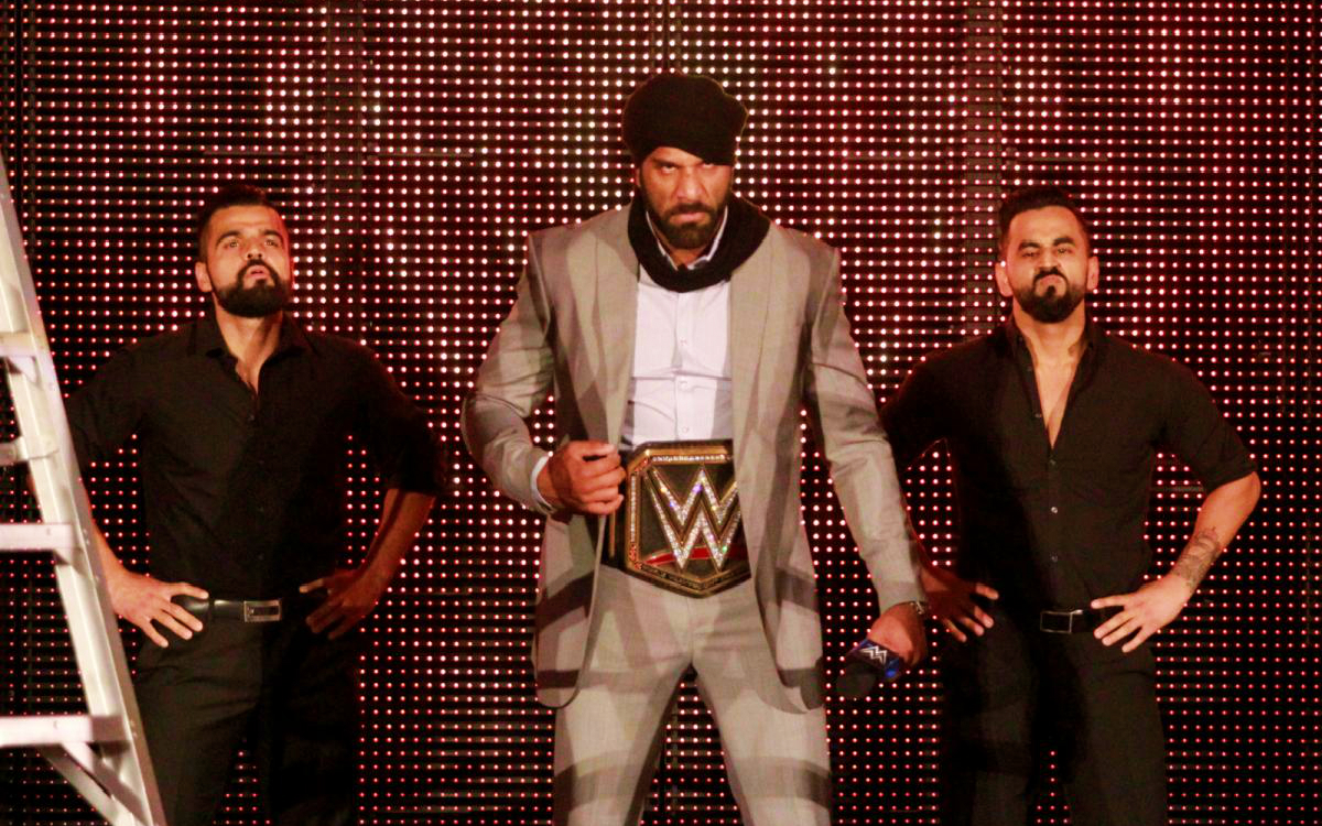 Jinder Mahal as WWE Champ