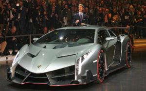 Lamborghini Veneno Silver