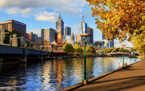 Melbourne in the Fall