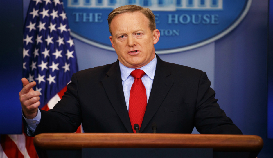 Breaking: Sean Spicer Resigns As White House Press Secretary