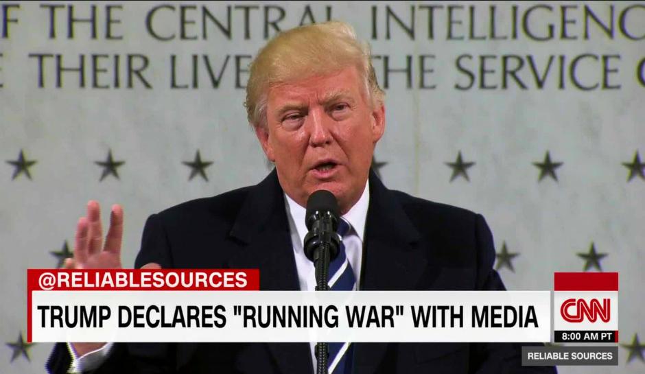 Trump media war