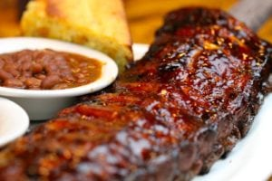 bbq BBQ Ribs And Baked Beans
