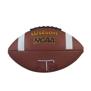 A Full Sized NCAA football - This is one item that can definitely show your college football pride for all to see