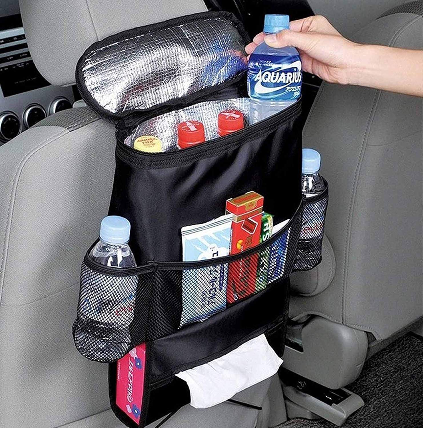 road trip essentials snack holder
