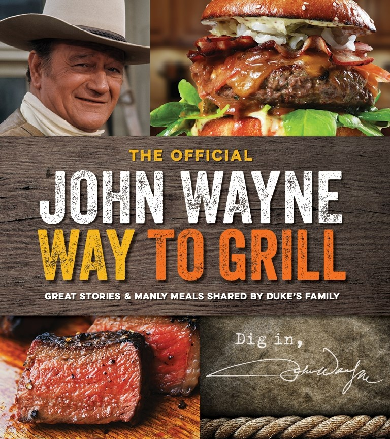john wayne cookbook