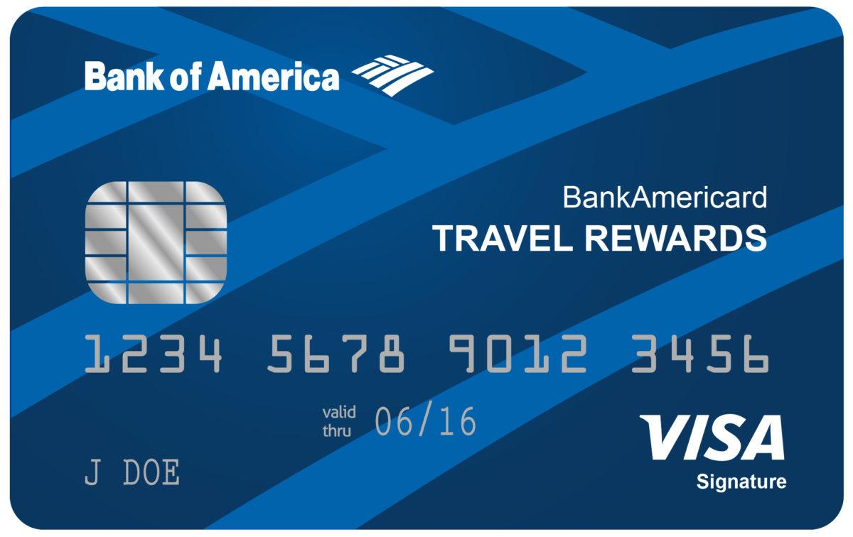 Bank of America Travel Rewards Credit Card