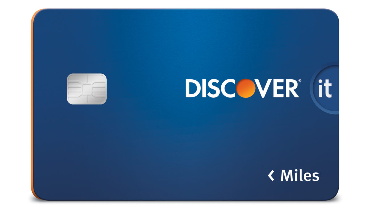 Discover it® Miles Travel Credit Card