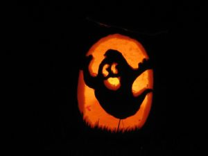 Friendly Ghost Jack O Lantern Pattern
