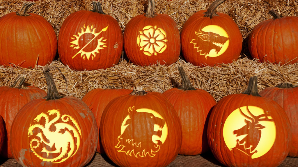Top 5 Game Of Thrones Jack-O'-Lantern Patterns