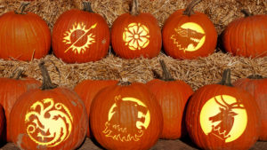 Game of Thrones Jack-O'-Lantern Patterns Features Image
