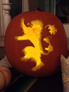 House Lannister Sigil Jack-O'-Lantern