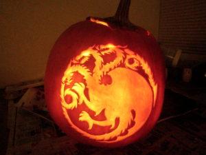 House Targaryen Jack-O'-Lantern