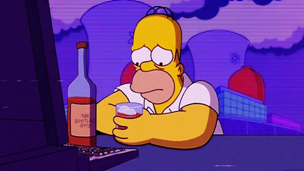 Simpsons Drink