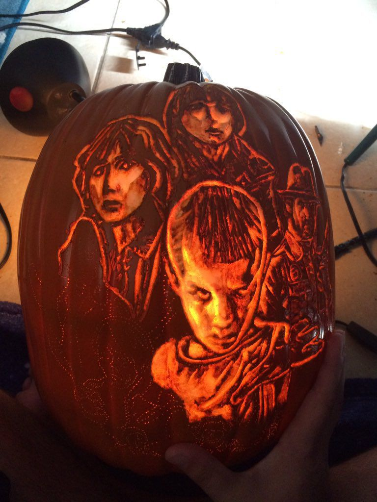 Stranger Things Jack-O'-Lantern
