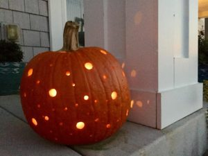 Twinkling Dots Jack-O'-Lantern
