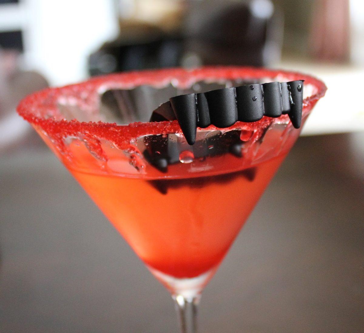 Vampire's Kiss Martini